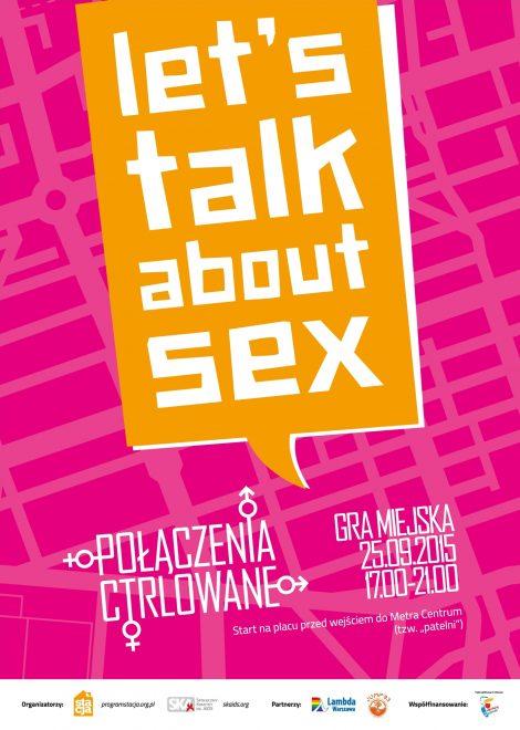 "Gra miejska ""Let's talk about sex!"" już 25 września"